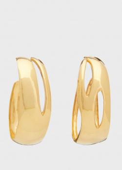 Крупные серьги-кольца Misho Tidal Classic, фото