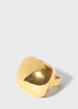 Широкое кольцо Misho Pebble с тонкой шинкой, фото