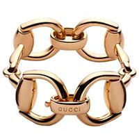 Браслет из желтого золота Gucci Horsebit, фото