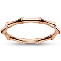 Браслет Gucci Bamboo из розового золота с пружинным механизмом, фото