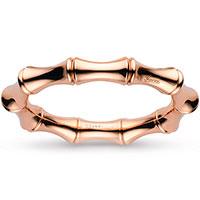 Браслет из розового золота Gucci Bamboo с пружинным механизмом, фото