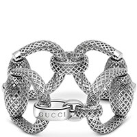 Браслет Gucci Horsebit из серебра, фото