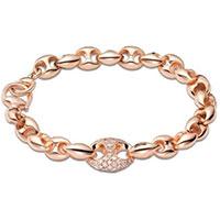 Браслет Gucci Marina Chain из розового золота с бриллиантами, фото