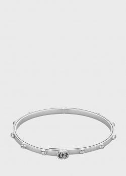 Золотой браслет Gucci GG Running с бриллиантами, фото