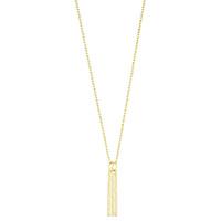 Ожерелье Gucci 1973 из желтого золота с кистеподобной подвеской, фото