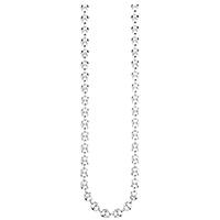Длинная цепочка Gucci Marina Chain из стерлингового серебра с крупными звеньями, фото