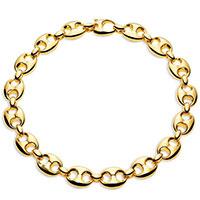Колье из желтого золота Gucci Marina Chain, фото