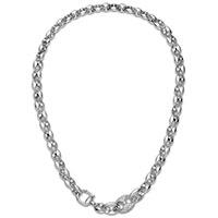 Колье с бриллиантами Gucci Marina Chain из белого золота, фото