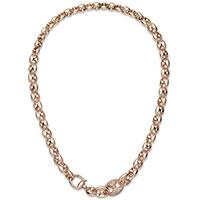 Колье с бриллиантами Gucci Marina Chain из розового золота, фото