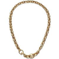 Колье Gucci Marina Chain из желтого золота, фото