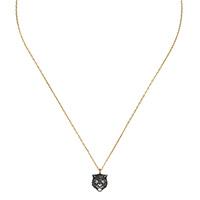 Ожерелье Gucci Le Marche des Merveilles с подвеской, бриллиантами и жемчугом, фото