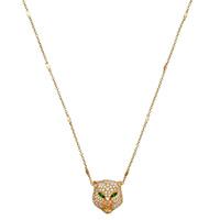 Золотое ожерелье Gucci Le Marche des Merveilles с подвеской в бриллиантах, фото
