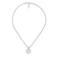 Ожерелье Gucci Interlocking G с подвеской и регулируемой длиной цепочки, фото