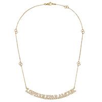 Ожерелье Gucci L'Aveugle par Amour с бриллиантами на подвеске, фото
