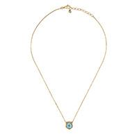 Ожерелье Gucci Le Marche des Merveilles с подвеской, цветными камнями и бриллиантами, фото