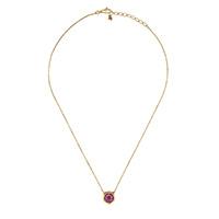 Ожерелье Gucci Le Marche des Merveilles с подвеской, бриллиантами и камнями, фото