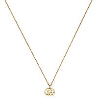 Тонкое ожерелье Gucci Running G с подвеской-логотипом, фото