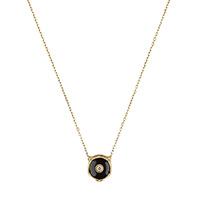 Ожерелье Gucci Le Marche des Merveilles с подвеской, бриллиантами и ониксом, фото