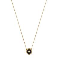 Ожерелье Gucci Le Marche des Merveilles с подвеской, бриллиантами и черным ониксом, фото