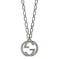 Ожерелье Gucci Interlocking G с текстурированной отделкой, фото