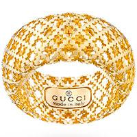 Кольцо Gucci Diamantissima из желтого золота, фото