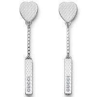 Серьги Gucci из серебра Trademark, фото