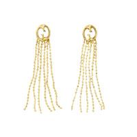 Длинные серьги-кисти Gucci 1973 из желтого золота, фото