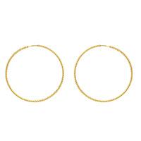 Серьги-кольца Gucci Le Marche des Merveilles из желтого золота, фото