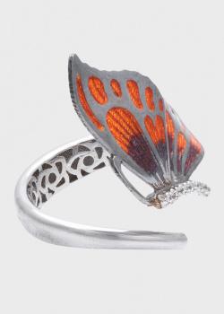 Кольцо Roberto Bravo Wings с бабочкой, фото