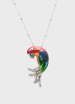 Колье Roberto Bravo Animo с попугаем, фото