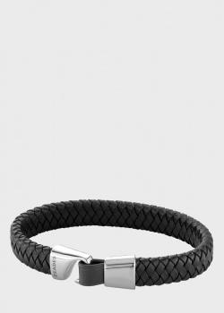 Мужской браслет Zaedes из плетенной кожи, фото