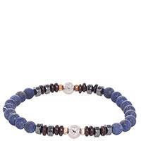 Браслет Zeades с камнями синего цвета, фото
