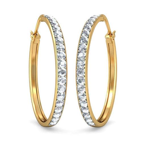 Серьги Kiev Jewelry Delkash с бриллиантами 001017-1047171, фото