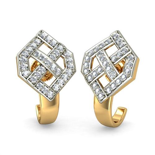 Серьги Kiev Jewelry Tulia с бриллиантами 001069-1047330, фото