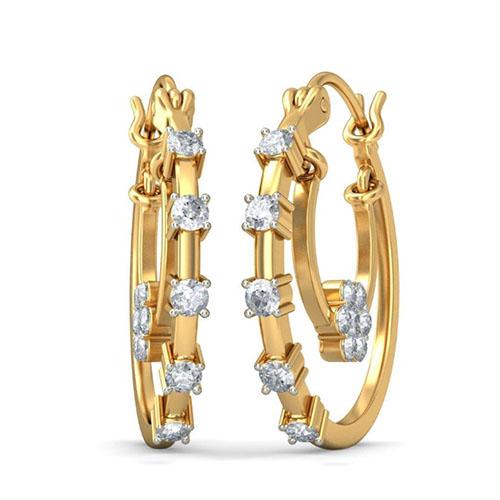Серьги Kiev Jewelry Rasal с бриллиантами 001703-1049133, фото