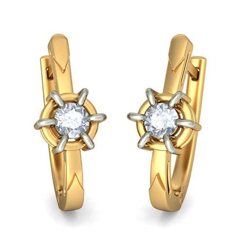 Серьги Kiev Jewelry Aida с бриллиантами 002087-342429, фото