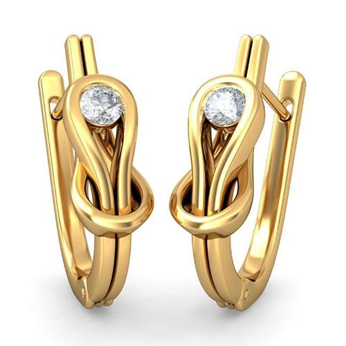 Серьги Kiev Jewelry Drihas с бриллиантами 002872-1051803, фото