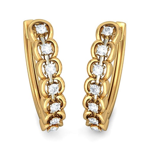 Серьги Kiev Jewelry Isara с бриллиантами 002875-1051813, фото