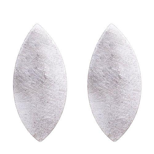 Крупные серьги Petra Meiren из посеребряной латуни, фото