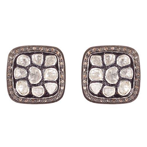 Серьги Gemme dOriente из серебра с бриллиантами, фото