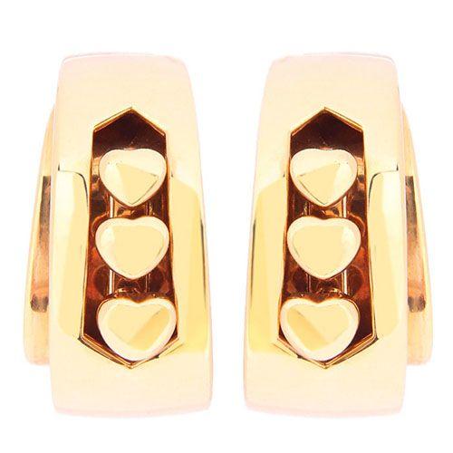 Серьги de Grisogono из золота с сердечками, фото