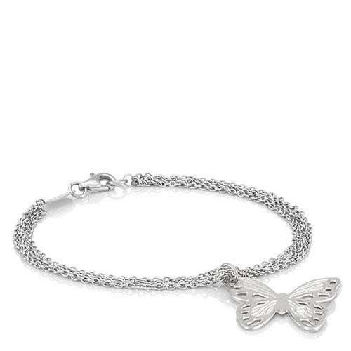 Браслет Nomination Butterfly из стали с бабочкой , фото