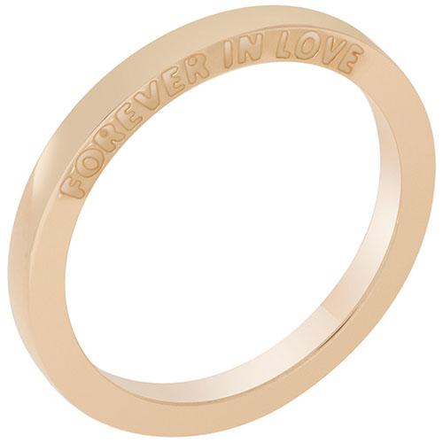 Кольцо из красного золота Sova Forever in love 100270310101, фото