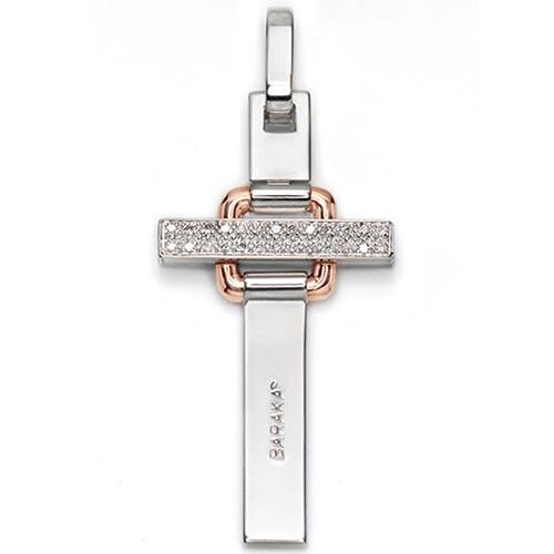 Крест-подвеска Baraka из золота с 26-ю бриллиантами, фото