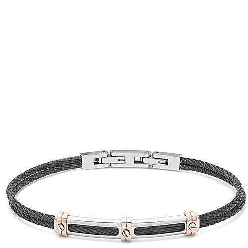 Мужской браслет Comete Wire в черном цвете, фото