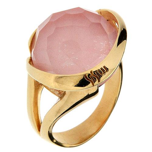 Перстень Misis Pienza с розовым опалом, фото