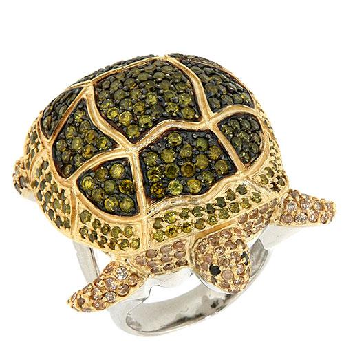 Кольцо Misis Deep Reef в форме черепахи, фото