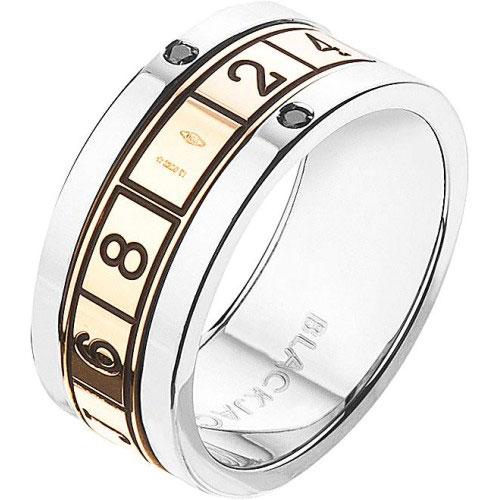 Мужское кольцо Baraka серебристого цвета, фото