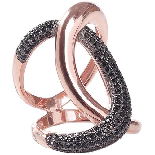 Серебряное кольцо Marcello Pane с позолотой, фото