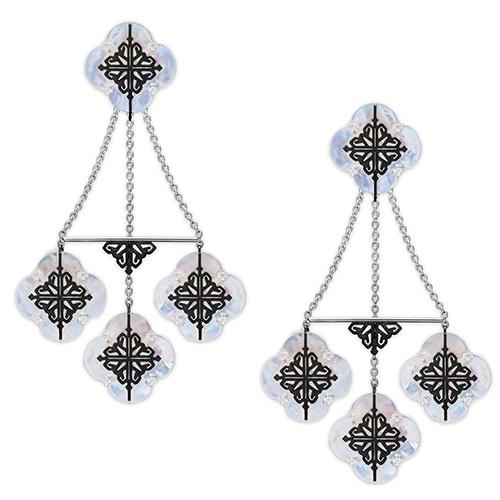 Объемные серьги Cava.cool Luxury Kit из серебра, фото